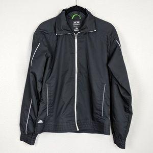 🌼 Adidas Golf Black and White Windbreaker Jacket
